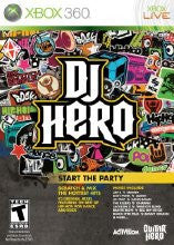 Xbox 360 DJ Hero 1 (Game Disc Only)