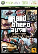 Xbox 360 Grand Theft Auto Episodes Liberty City (Game Disc Only)