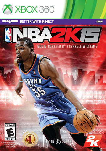 Xbox 360 NBA 2K15 (Game Disc Only)