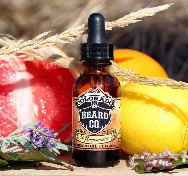 """The Brewmaster"" Beard Oil Dropper Bottle - 1 oz"