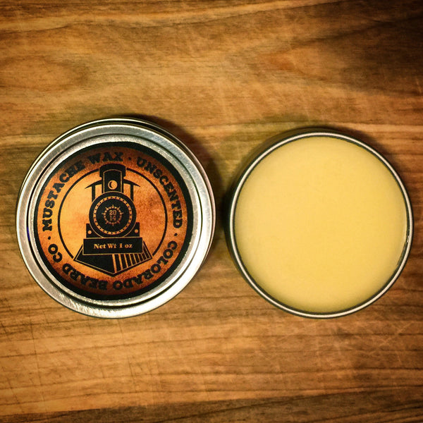 """Unscented"" Mustache Wax - 1 oz"