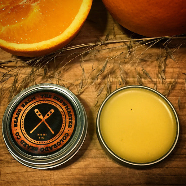 """The Brewmaster"" Beard Balm - 1 oz"