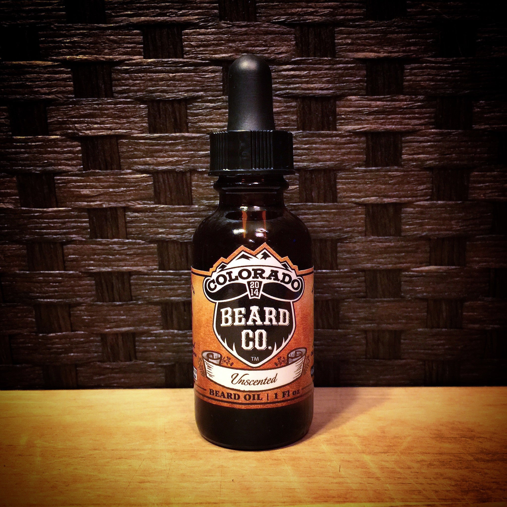 """Unscented"" Beard Oil Dropper Bottle - 1 oz"