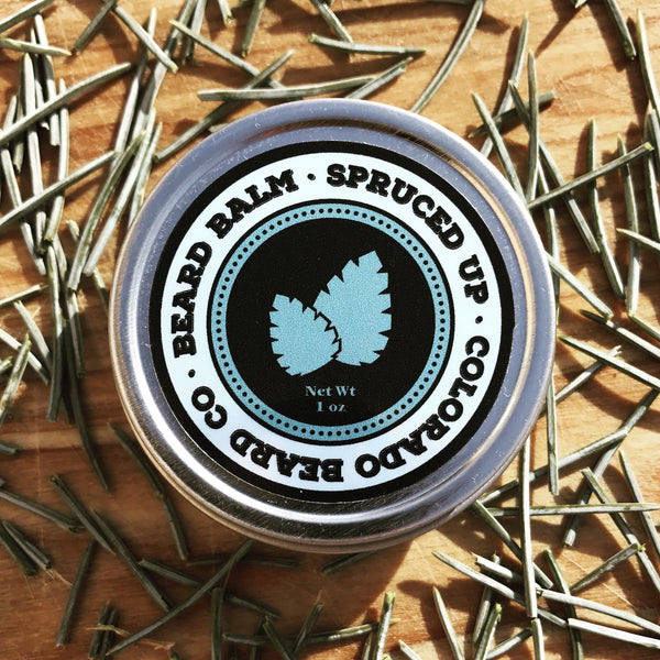"""Spruced Up"" Beard Balm - 1 oz"