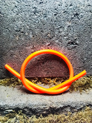 Latex Fluorescent Orange Tubing