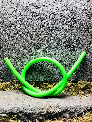 Latex Fluorescent Lime Tubing