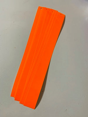 "1"" X 12"" Fluorescent Orange Tape"