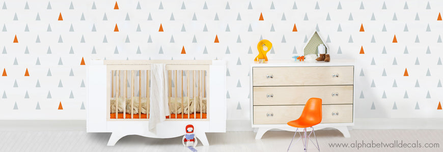 Gender Neutral Nursery Wall Decals