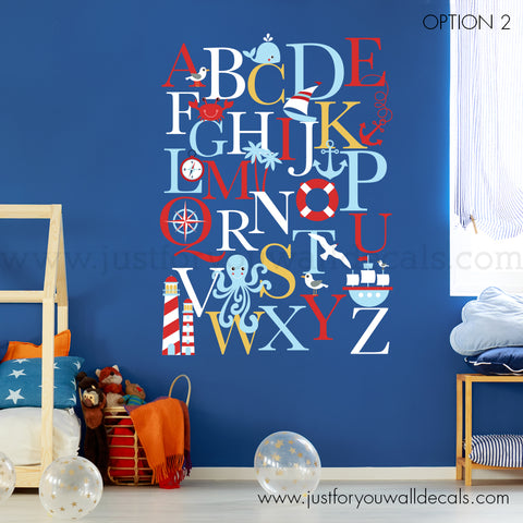 nautical wall decal