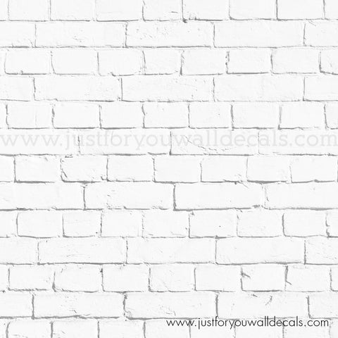 Sample White Brick Wallpaper