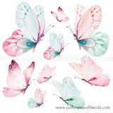 butterfly wall decals