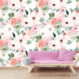 floral removable wallpaper