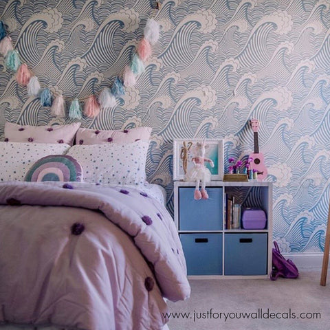 boys room wallpaper