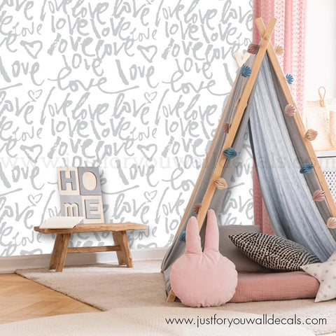 Love Wallpaper - Nursery Wallpaper
