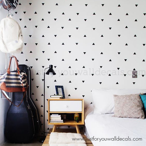 Mini Triangle Pattern Wall Decals