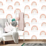 rainbow removable wallpaper mural