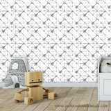 Hand Drawn Abstract Pattern Wallpaper