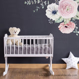 flower wall decals