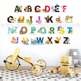 alphabet wall decals