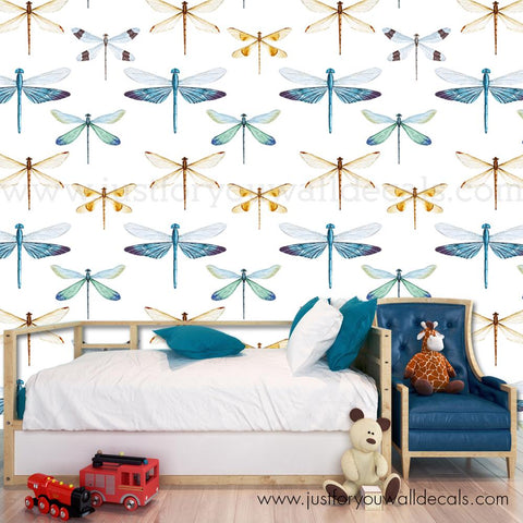 Color Firefly Removable Wallpaper