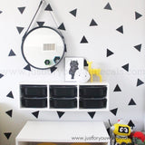 large triangle wall decals
