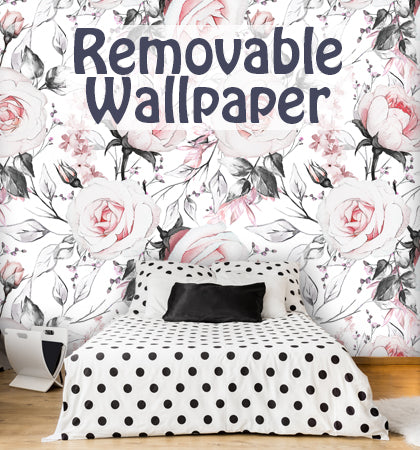 Floral Wall Decals Wall Decals Removable Wallpaper Wall