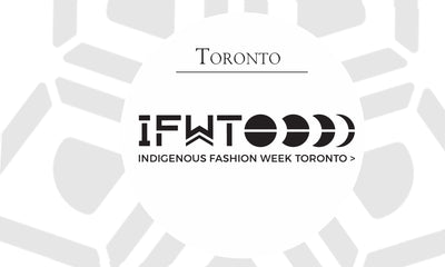 ANNULLÉ<h3>Indigenous Fashion Week Toronto</h3>Toronto, Ontario<h6>Wed, May 28 - Sun, May 31, 2020</h6>