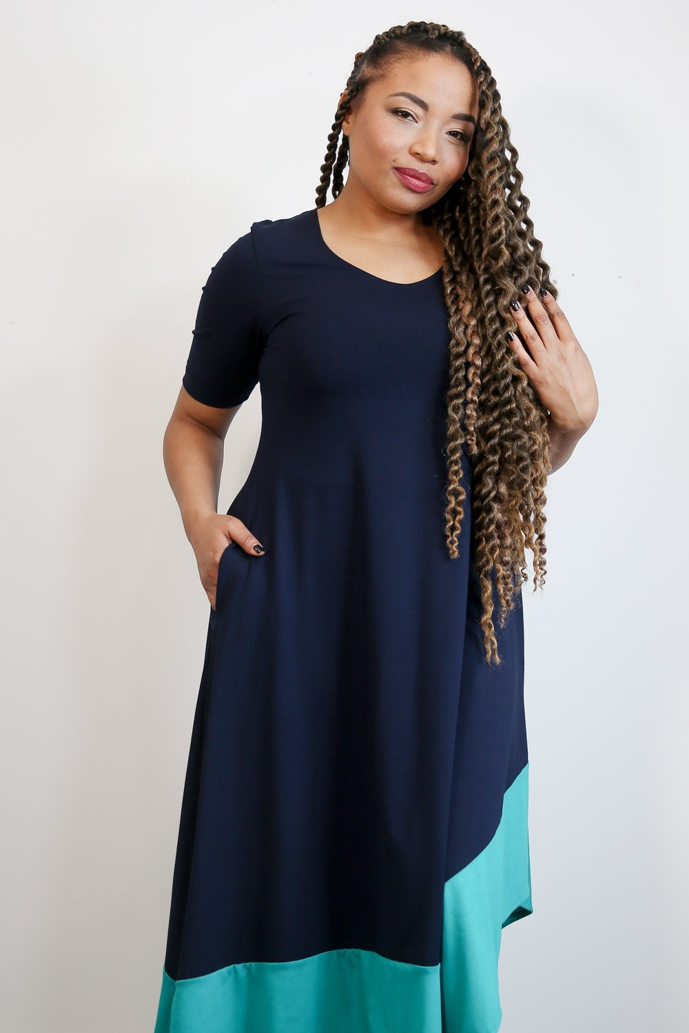 Monelle short sleeve dress 2