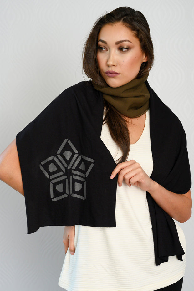 Bamboo Anne Mulaire Scarf