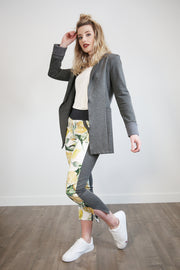 GREEN DEAL- Champagne Print Ankle Pant