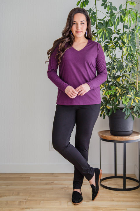 Bamboo Vee Long Sleeve