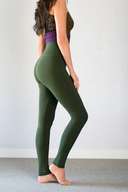 Bamboo MID Season Legging- Solid