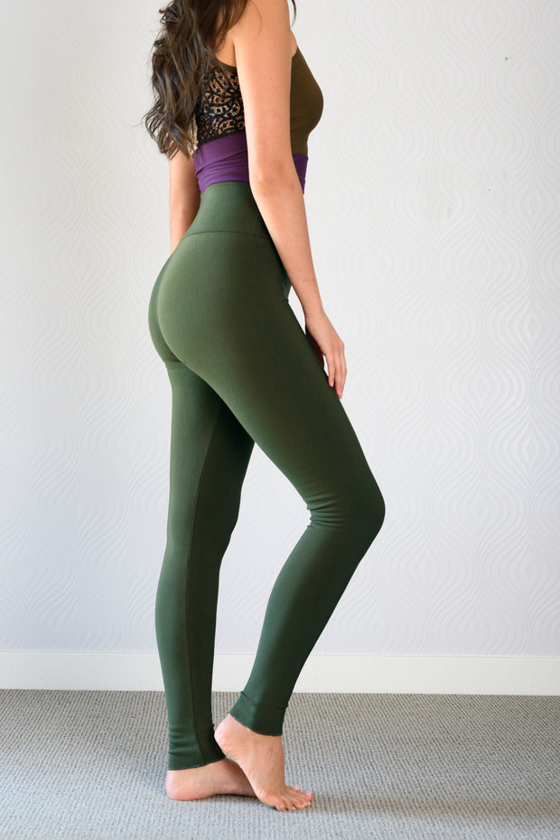 Bamboo WINTER Season Legging- Solid