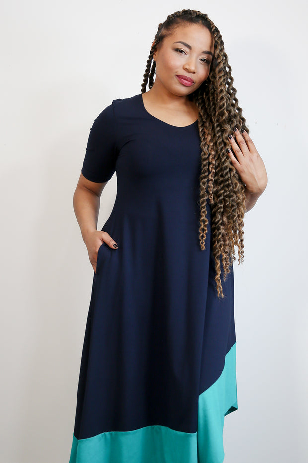 Monelle Short Sleeve Dress