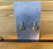 Naked Sage- Labradorite- Rain Earrings