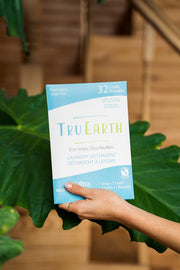 TRU EARTH- Eco-strip Laundry Detergent - Fresh Linen- 32 Loads