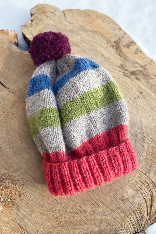 KNITS- 100% Wool ZERO WASTE Toque