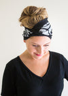 Bamboo Headband - Fleece Printed