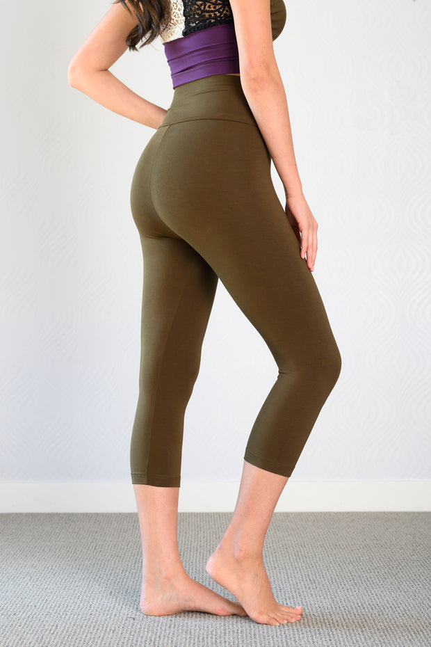 Bamboo ALL Season Crop Legging