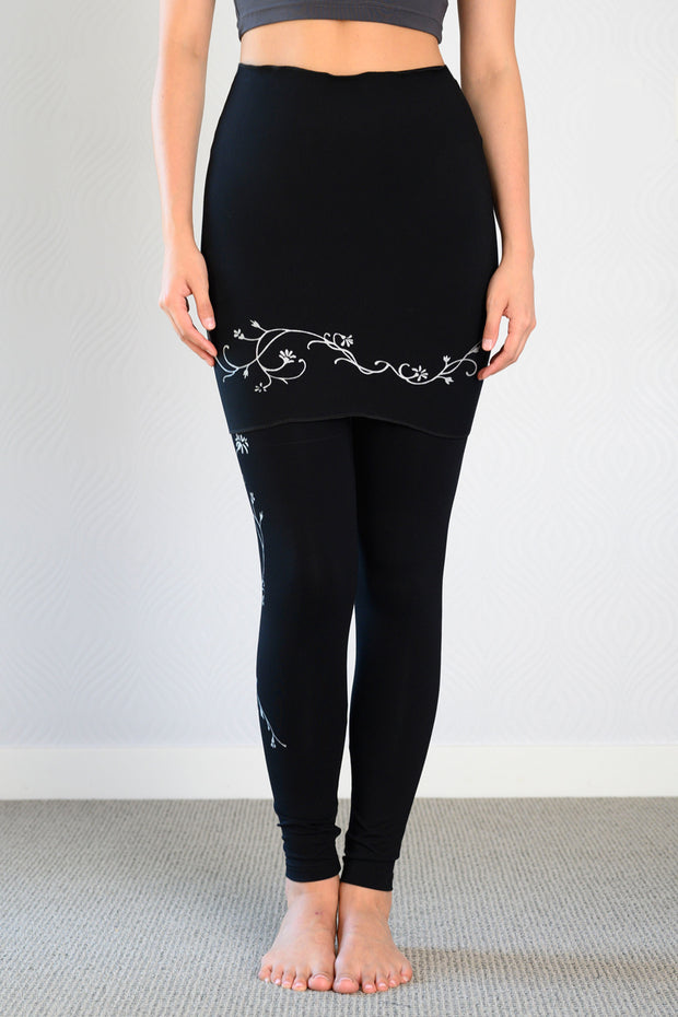 Bamboo MID Season Leggings -Catherine's Vine