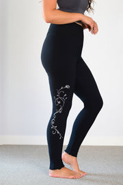 Bamboo WINTER Legging- Print Catherine Vine