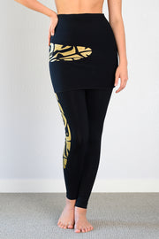 Bamboo ALL Season Legging- Print Spirit of the North