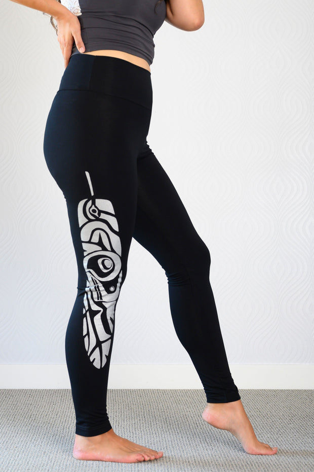Bamboo WINTER Legging- Print Spirit of the North