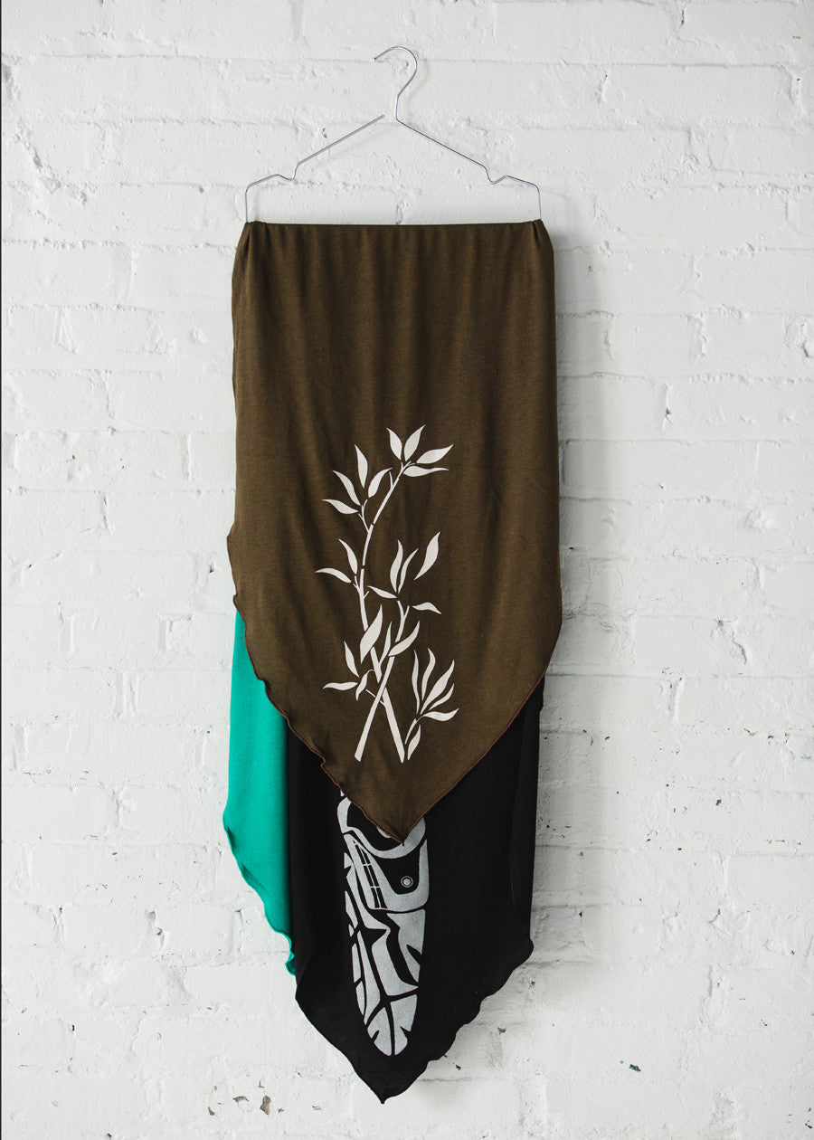 Bamboo Heritage Scarf - Printed