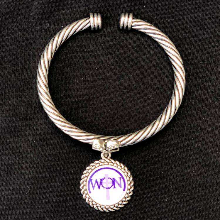 Women Of The Nation Bracelet with Clear Stones