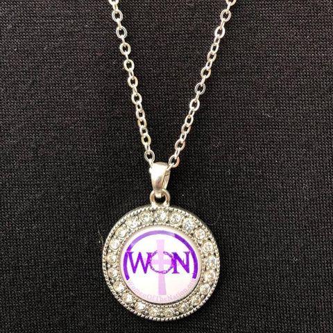 Women Of The Nation Necklace with Clear Stones
