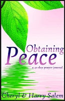 Obtaining Peace A Forty Day Prayer Journal