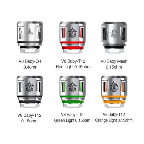 SMOK TFV8 Baby Beast T12 Light up coil 5pack coils