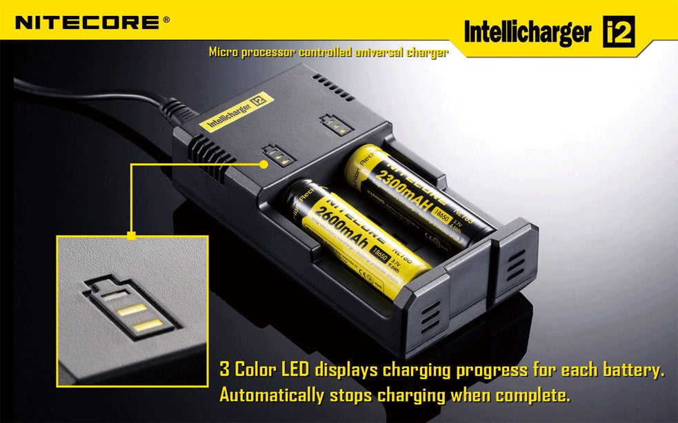 NITECORE 2 SLOT INTELLICHARGER
