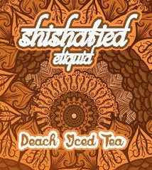Shishafied Eliquid - Peach Ice Tea